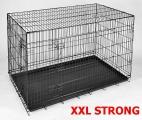 Klec pro psa 126x74x84 cm XXL STRONG