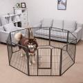 Ohrádka pro psy a štěňata - výška 80 cm Songmics